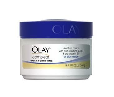 OLAY :: Complete Night Fortifying Night Cream ครีมบำรุงกลางคืน ให้ความชุ่มชื้น ไม่เหนียวเหนอะหนะ สำหรับทุกสภาพผิว