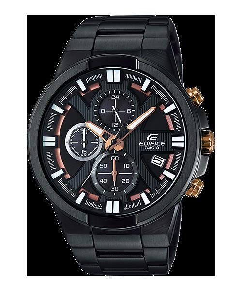 นาฬิกา คาสิโอ Casio Edifice Chronograph รุ่น EFR-544BK-1A9V สินค้าใหม่ ของแท้ ราคาถูก พร้อมใบรับประกัน
