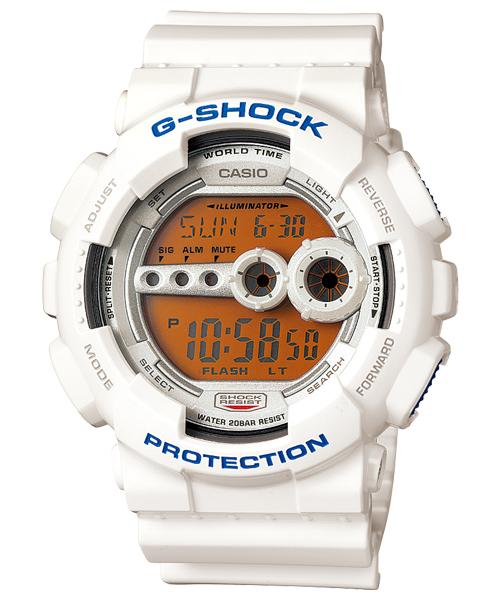นาฬิกา คาสิโอ Casio G-Shock Standard Digital รุ่น GD-100SC-7DR สินค้าใหม่ ของแท้ ราคาถูก พร้อมใบรับประกัน