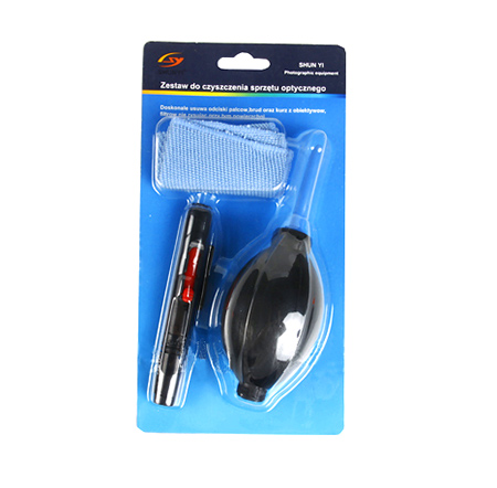 ชุดทำความสะอาดกล้องและเลนส์ 3 IN 1 Cleaning Kit For Camera Lens