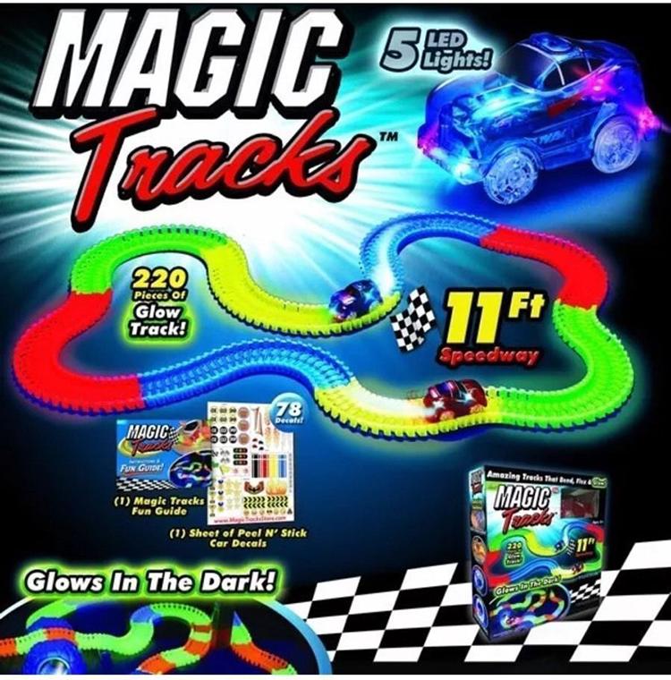 BO140 รถแข่ง Magic Tracks grow in the dark ปาร์ตี้เกมส์ แฟมิลี่เกมส์ เกมส์บอร์ด เล่นสนุก กับเพื่อนๆ