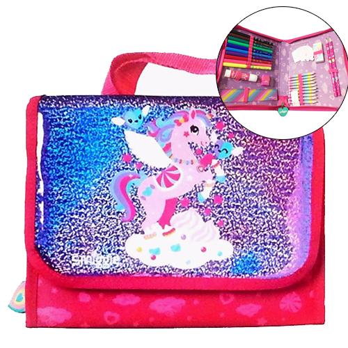 SMP053 Gift Set สมิเกอร์ smiggle UNICORN Glitter Handbag Kit