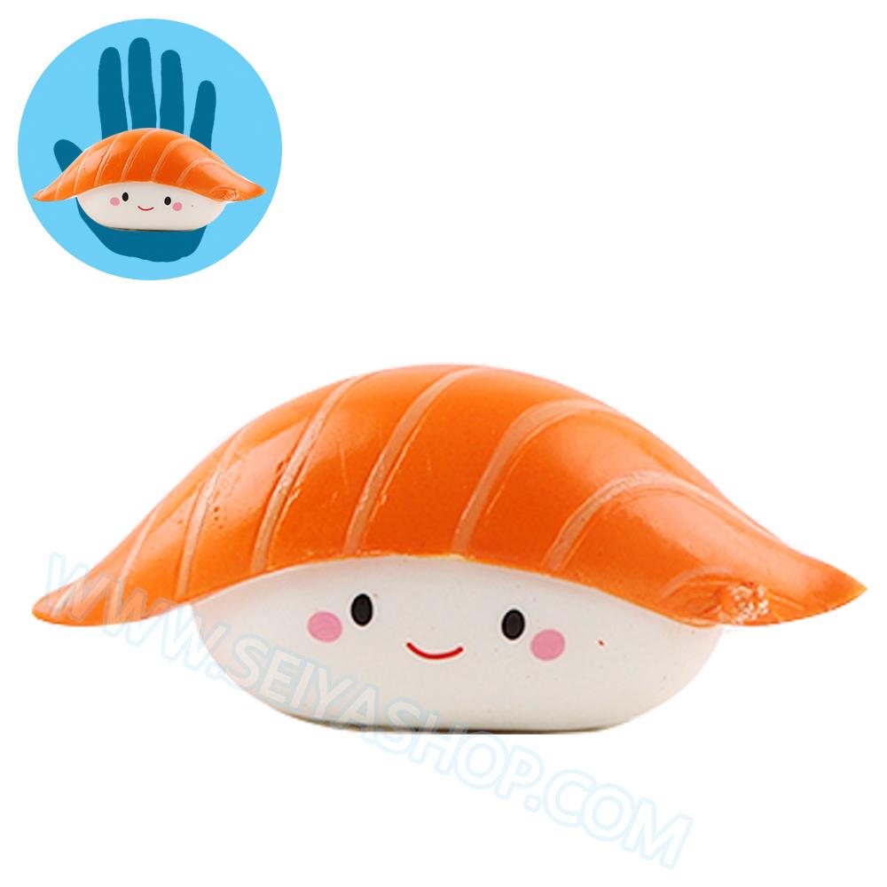 CB308 สกุชชี่ sushi ข้าวปั้น ขนาด 10 cm (Super Soft) ลิขสิทธิ์แท้