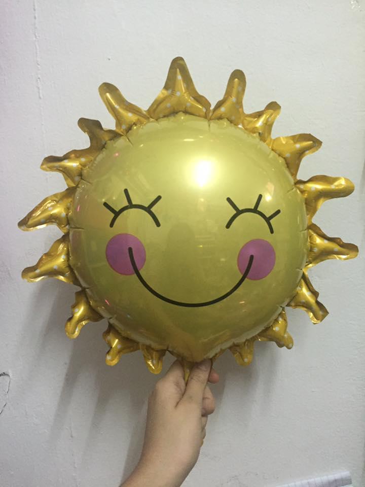 ลูกโป่งลายพระอาทิตย์ยิ้ม