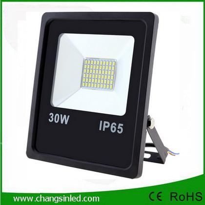 โคมไฟ LED Slim Flood Light Eco Series 30w