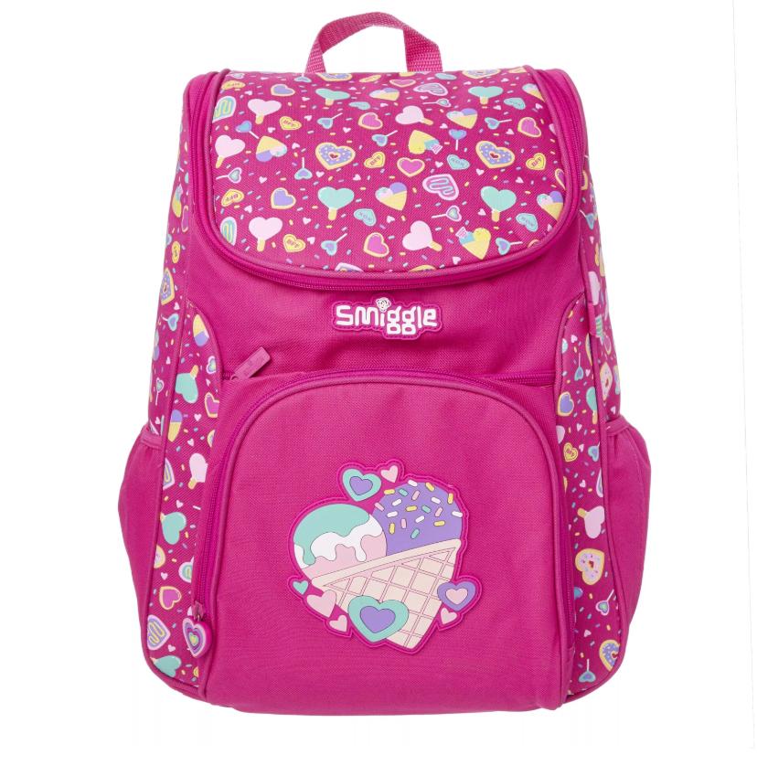 SMB022 กระเป๋าเป้ สมิกเกิ้ล พร้อมส่ง Smiggle Woah Access Backpack