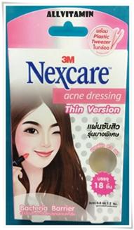 3M Nexcare Acne Dressing Thin Version 18 ชิ้น
