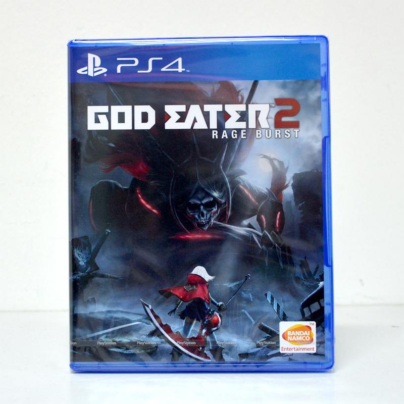 PS4™ God Eater 2: Rage Burst zone2 eu Zone 3 Asia / English