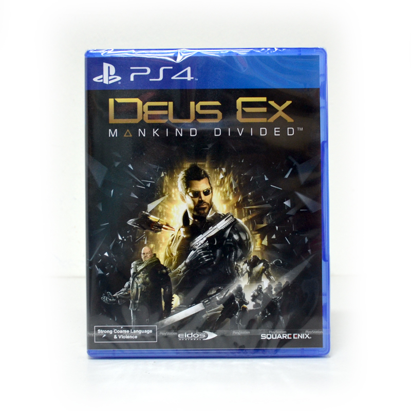PS4™ Deus Ex: Mankind Divided Zone 3 Asia / English