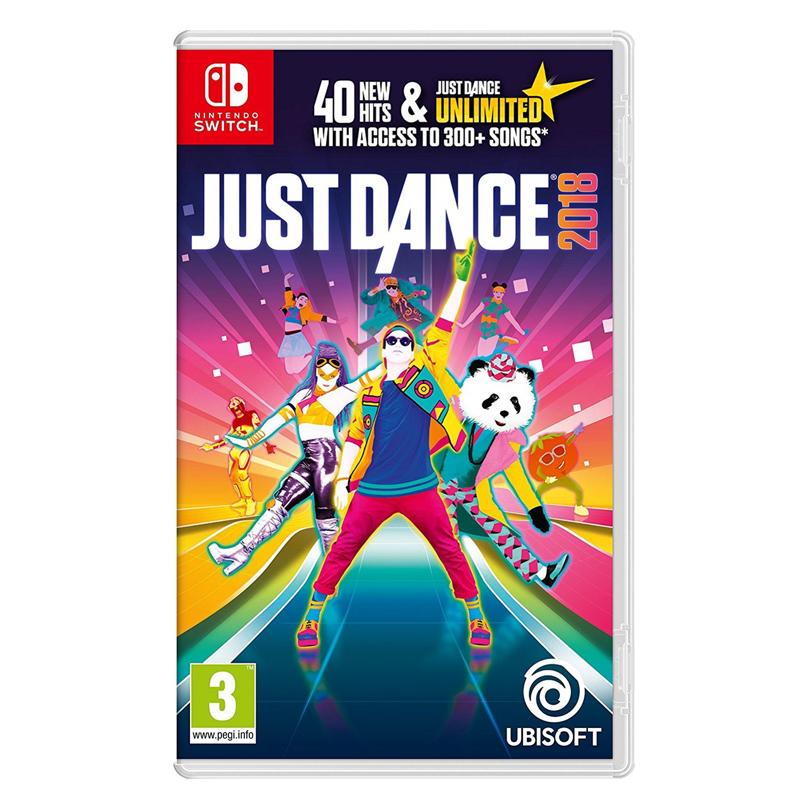Nintendo Switch™ Just Dance 2018 Zone us Eng // Zone EU, English ราคา 1690.-