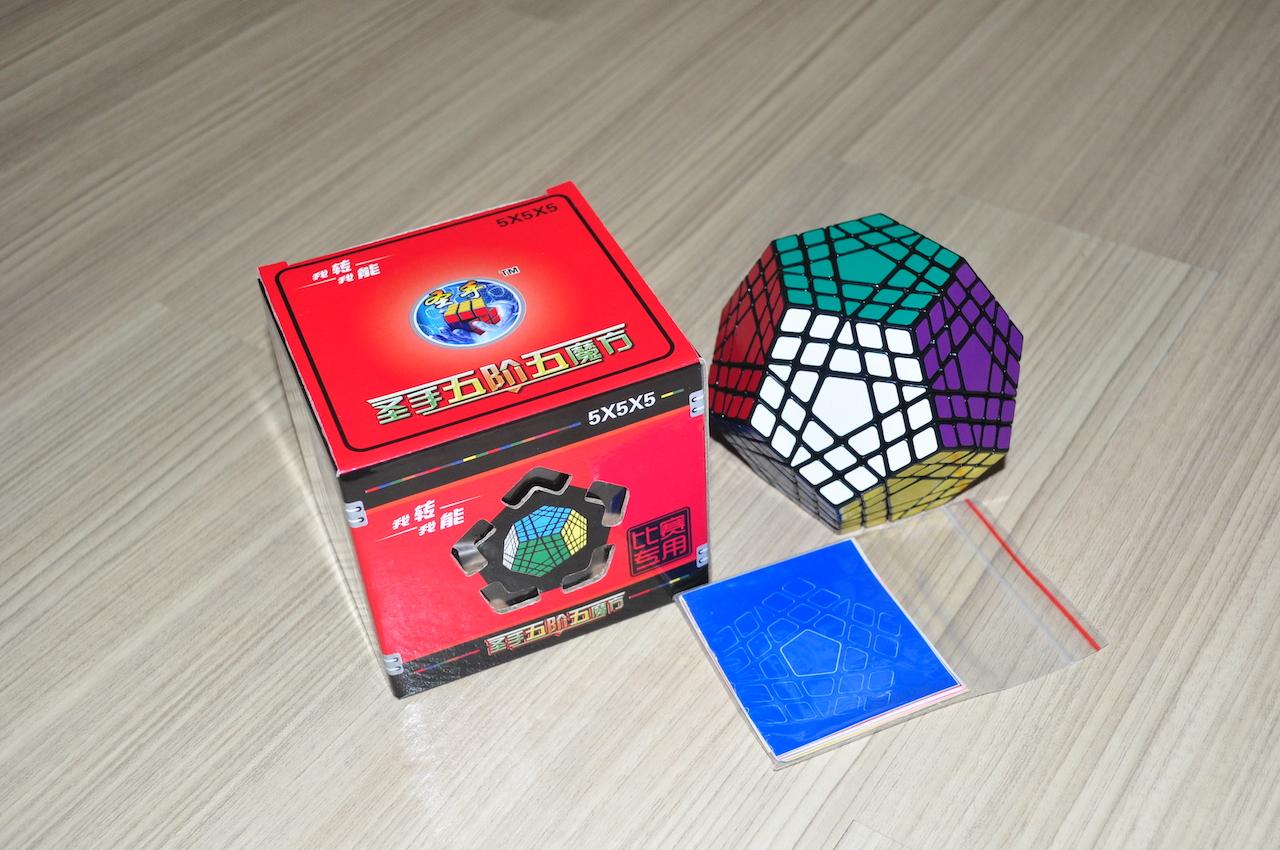 ShengShou Gigaminx Black