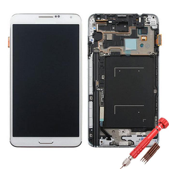 ราคาหน้าจอชุดเทียบงานแท้ Samsung Galaxy Note 3 LTE (4G) แถมฟรีไขควง ชุดแกะเครื่อง+กาวติดหน้าจอ