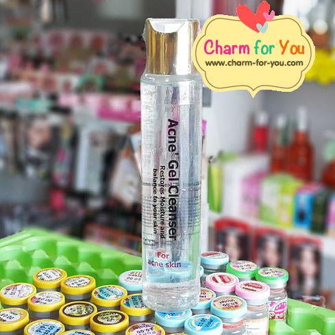 เจลใสล้างหน้าลดสิว Acne Gel Cleanser ขายเครื่องสำอาง อาหารเสริม ครีม ราคาถูก ของแท้100% ปลีก-ส่ง