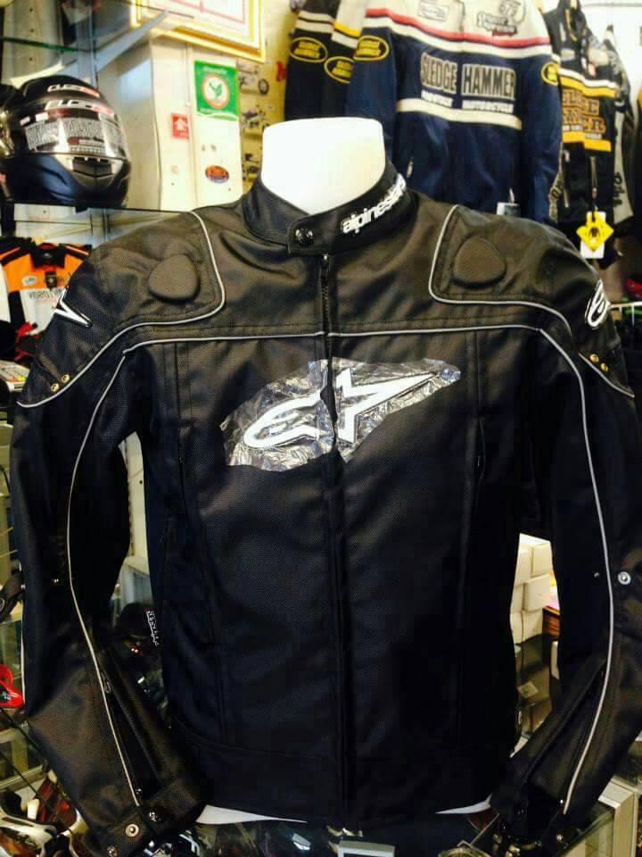 เสื้อการ์ดขี่มอเตอร์ไซค์ Alpinestar สีดำ AL-034