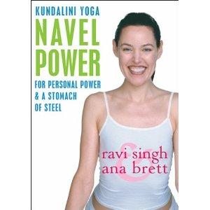 ดีวีดีออกกำลังกาย โยคะ ลดความอ้วน - Navel Power - Kundalini Yoga With Ana Brett & Ravi Singh