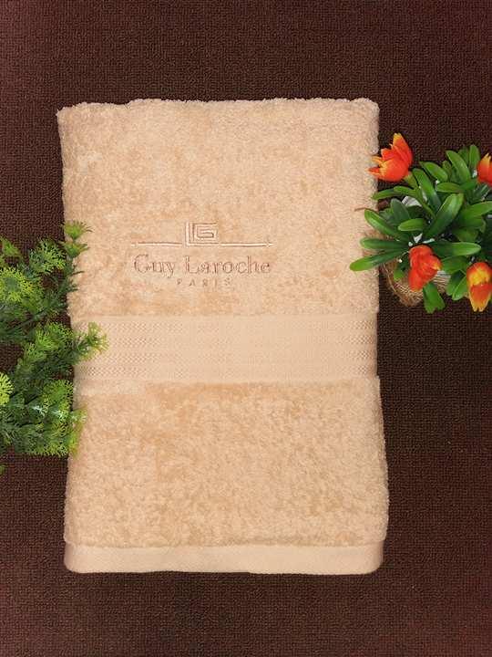 ผ้าเช็ดตัว Guy Laroche เกรด A ขนาด 135 x 70 ซ.ม