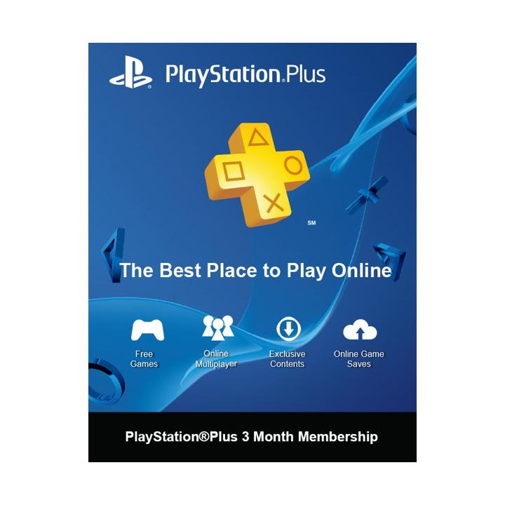 PS Plus 3 Months (Thai)