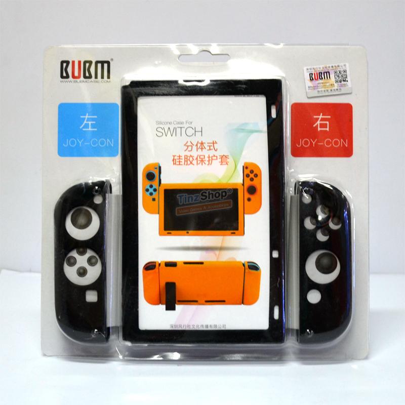BUBM™ Soft Silicone Case Anti-slip For Switch and Joy-con Color:Black ราคา 490.-