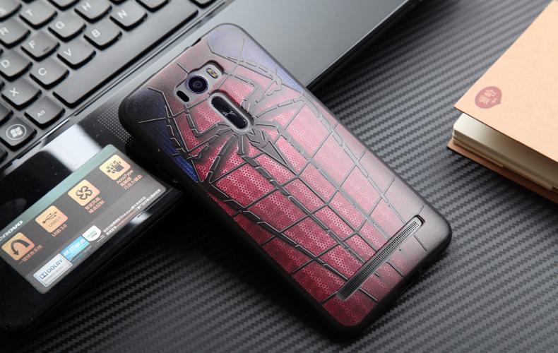 เคส asus zenfone 2 laser 6 ze601kl tpu ลาย 3D Spider