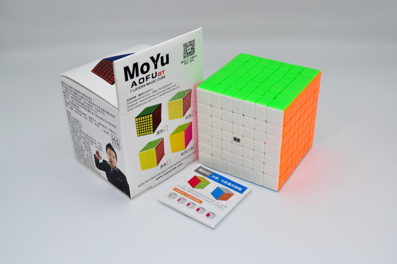 MoYu AoFu 7x7x7 GT Stickerless