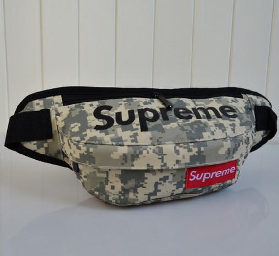 กระเป๋าคาดเอวขี่มอเตอร์ไซค์ Supreme สีลายพราง2