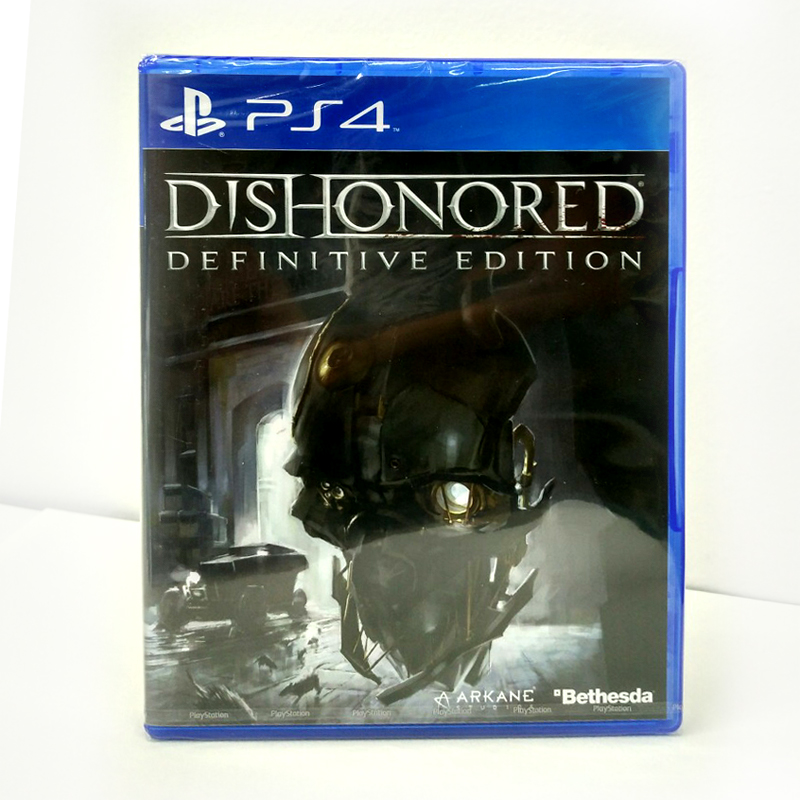 PS4 Dishonored : Definitive Edtion Zone 3 Asia / English