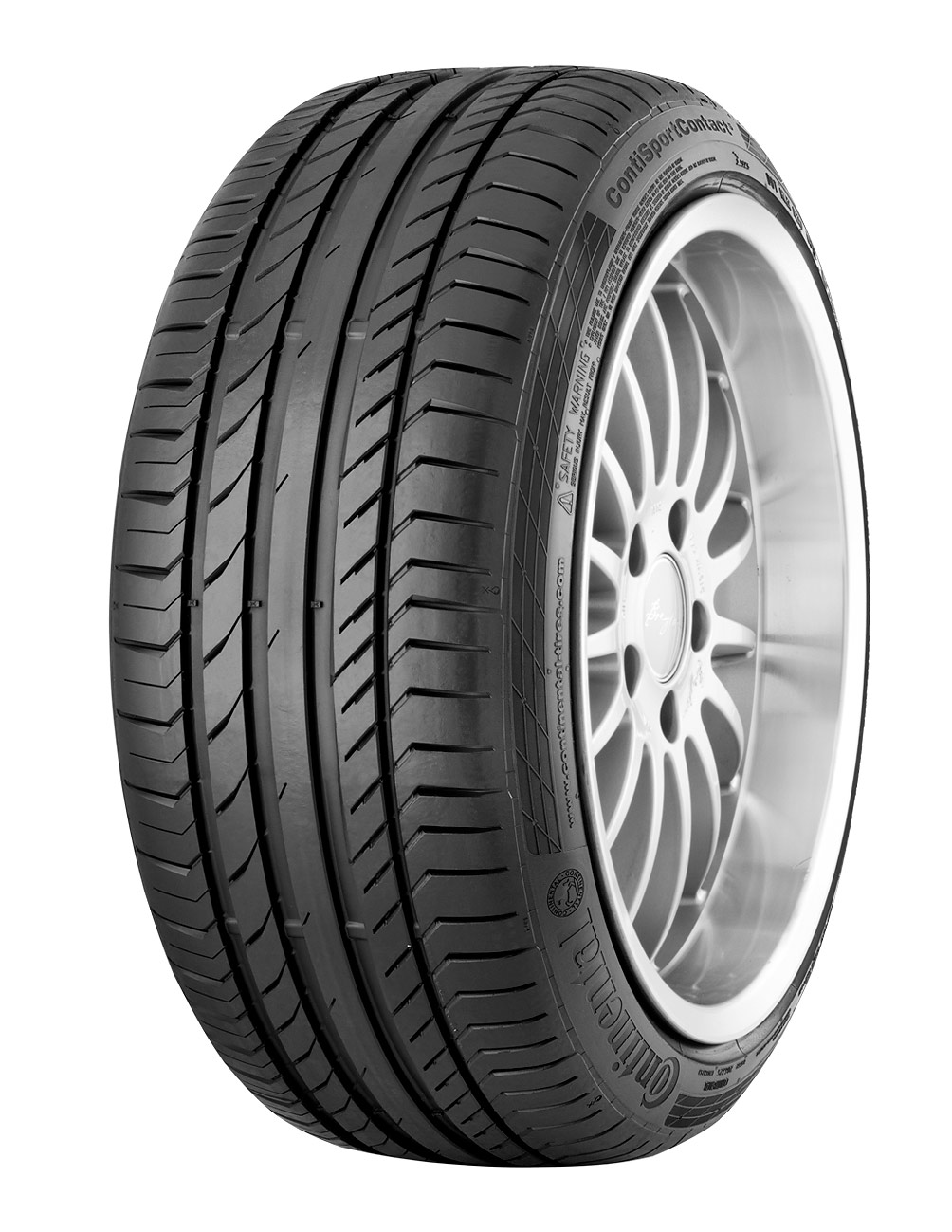 CONTINENTAL CONTISPORT CONTACT 5 SUV 265/50R20 ปี15 ซื้อ2แถม2