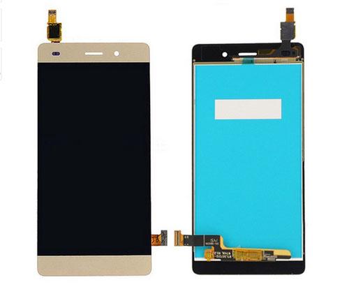 ราคาหน้าจอชุด+ทัชสกรีน Huawei P8 Lite สีทอง แถมฟรีไขควง ชุดแกะเครื่อง อย่างดี