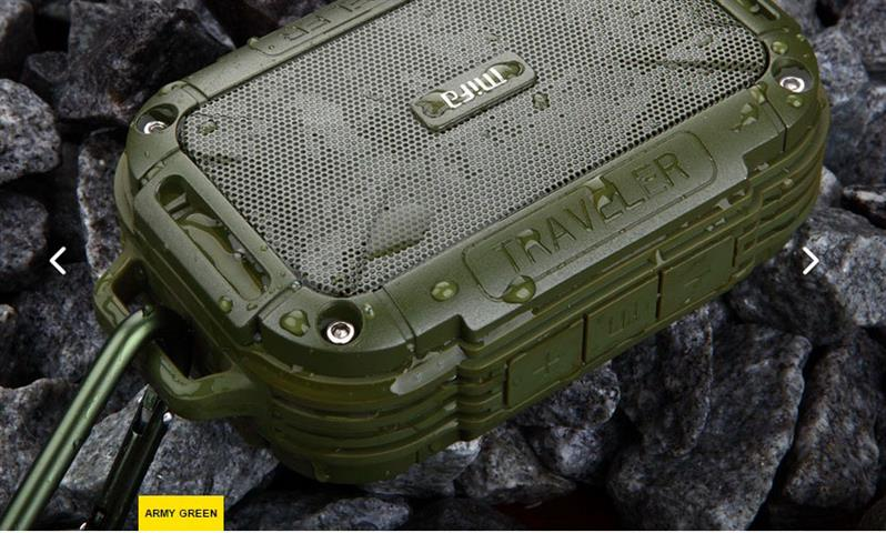 Mifa F7 (สีเขียวทหาร) ใส่Micro sdcardได้