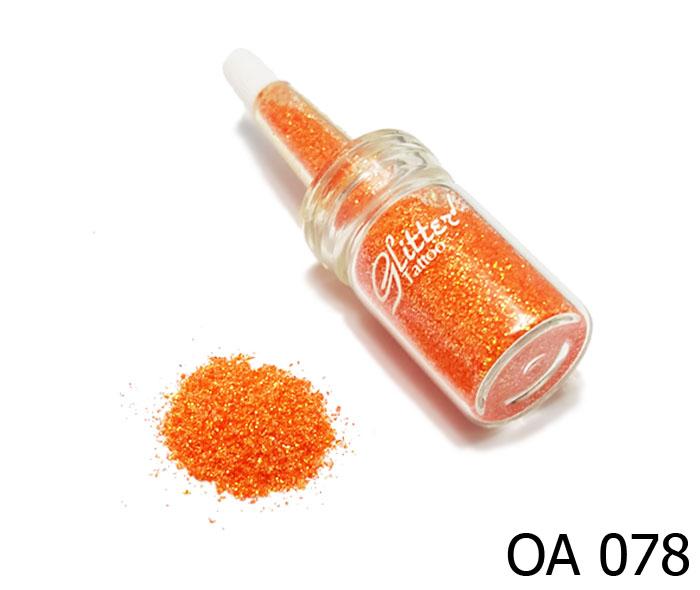 สี ส้มประกายทองคริสตัล