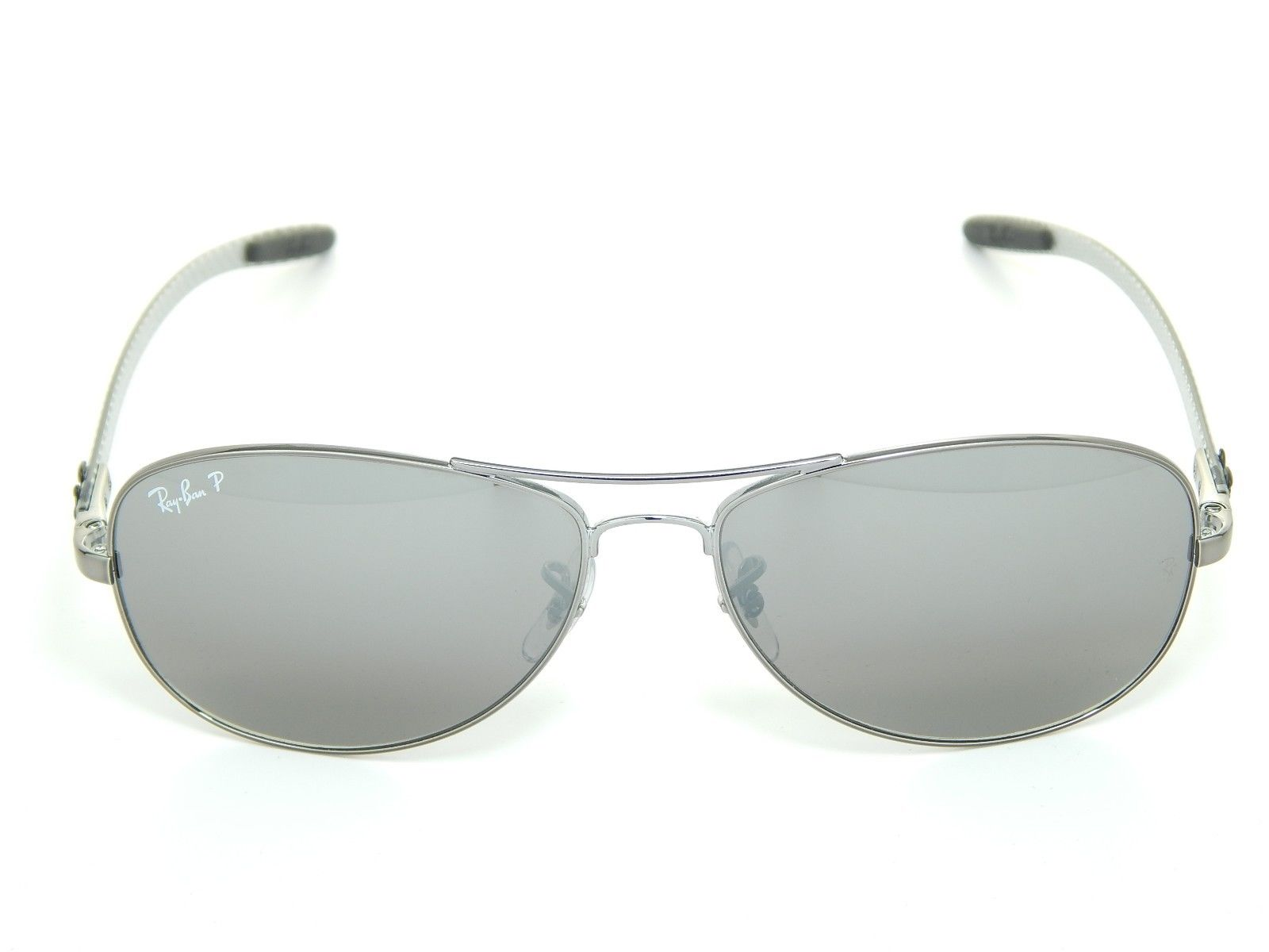 RAY BAN RB8301 004/N8 TECH Gray Mirror Polarized 59mm
