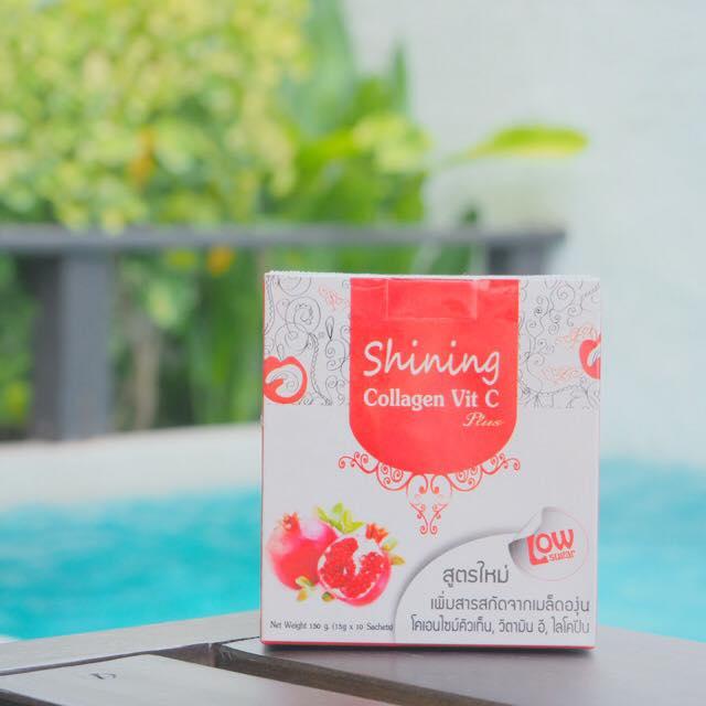 Collagen Vit C by Shining คอลลาเจน วิต ซี อาหารเสริมผิว