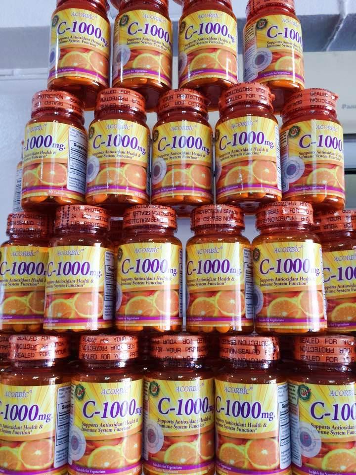 Acorbic C-1000 mg. อคอร์บิค วิตามิน ซี 1,000 มก .