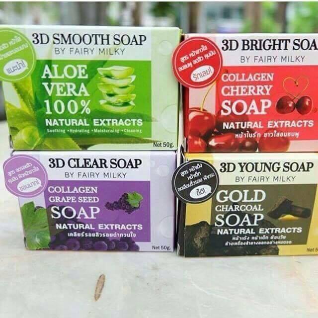 สบู่ว่านมหาเสน่ห์ 3D SOAP