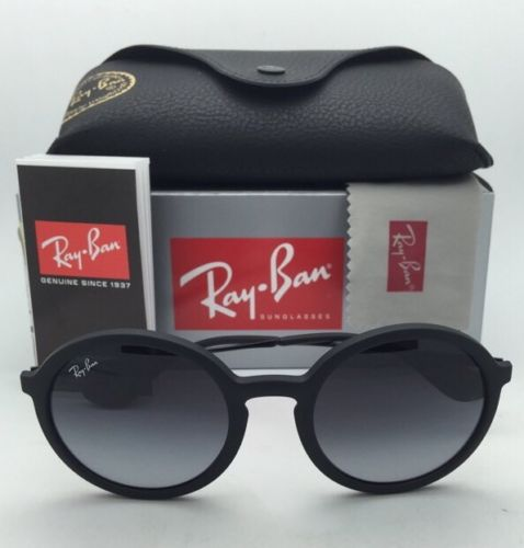 Ray Ban RB 4222 622/8G Black Rubber Frame 50 mm