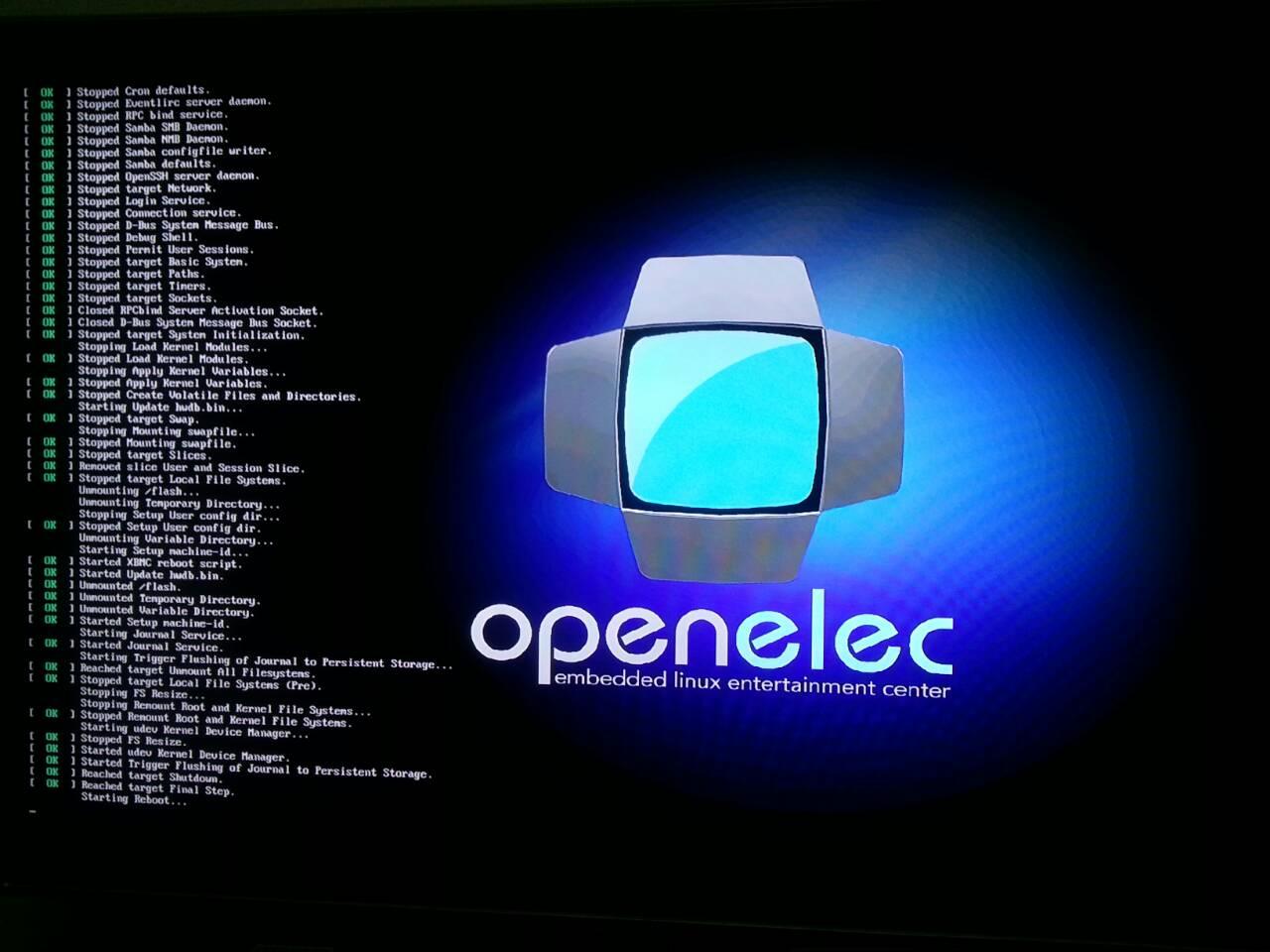 Start Openelec