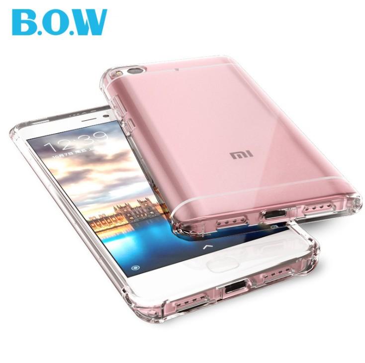 เคสใสกันกระแทก Xiaomi Mi5s B.O.W. TPU Case (เคสนิ่ม)