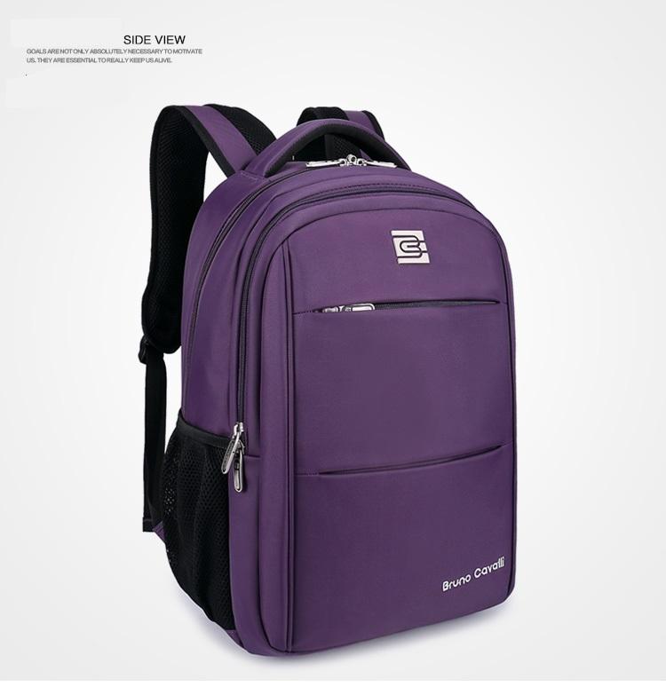 กระเป๋าสะพาย Bruno Cavalli (สีม่วง) ใส่ Notebook