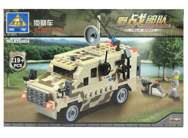เลโก้จีน Kazi84024 Scout car