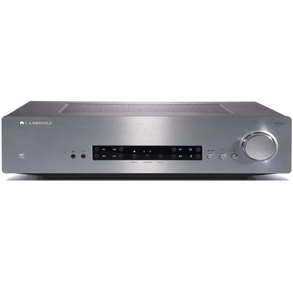 Cambridge Audio CXA60 Amplifier Silver
