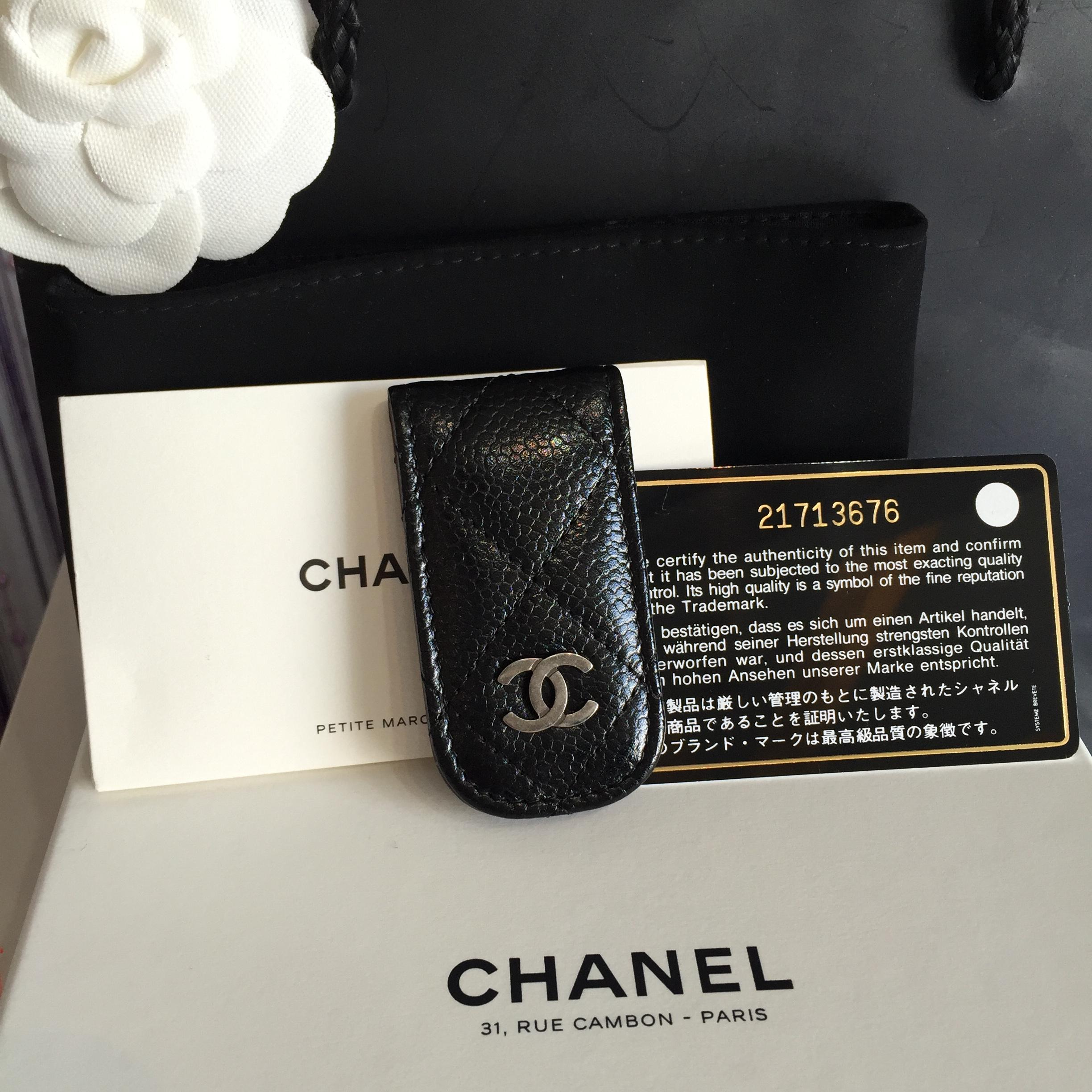 (SOLDOUT)Chanel Money Clip Cavier