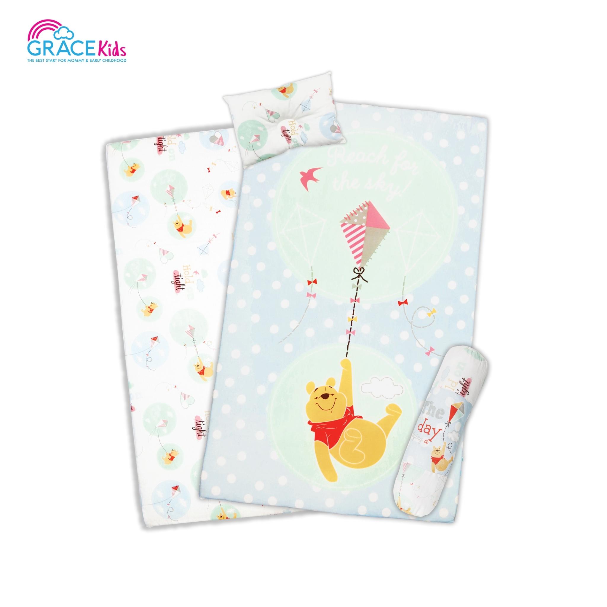 ที่นอนไซด์M Pooh Lets Fly a kite (24*40*2.5)