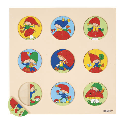 GNOME PUZZLE - ภาพต่อภูติตัวจิ๋ว