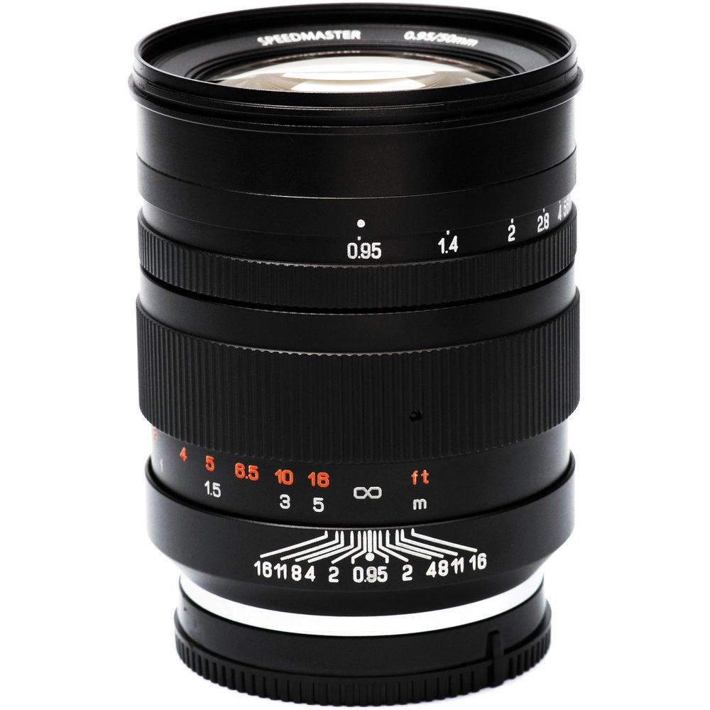 MITAKON Speedmaster 50MM F/0.95 Lens - Sony E - Full Frame