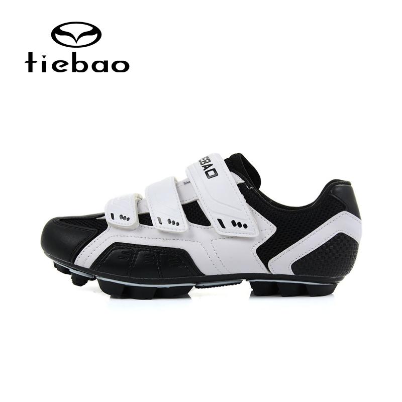 รองเท้าจักรยานเสือภูเขา TIEBAO รุ่น TB15-B943 สีขาวดำ