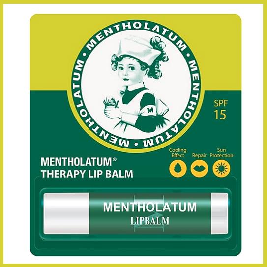 Mentholatum Therapy Lip Balm เมนโทลาทั่ม เทอร์ราปี่ ลิปบาล์ม เอสพีเอฟ 15 3.5 กรัม