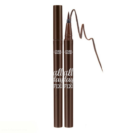 Etude House All Day FixPen Liner #Brown สีน้ำตาลเข้ม