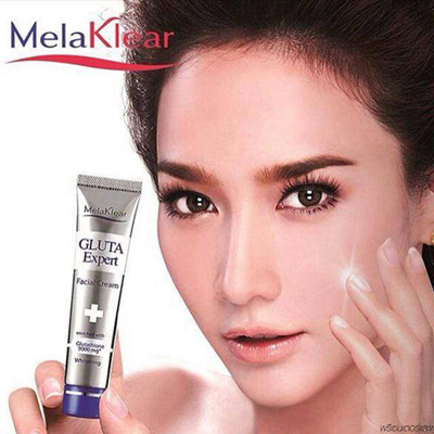 Melaklear Gluta Expert Whitening Facial Cream 15 g. / ครีมบำรุงผิวหน้า เมลาเคลียร์ กลูต้า เอ็กซ์เปิร์ท ไวท์เทนนิ่ง ขนาด 15 กรัม