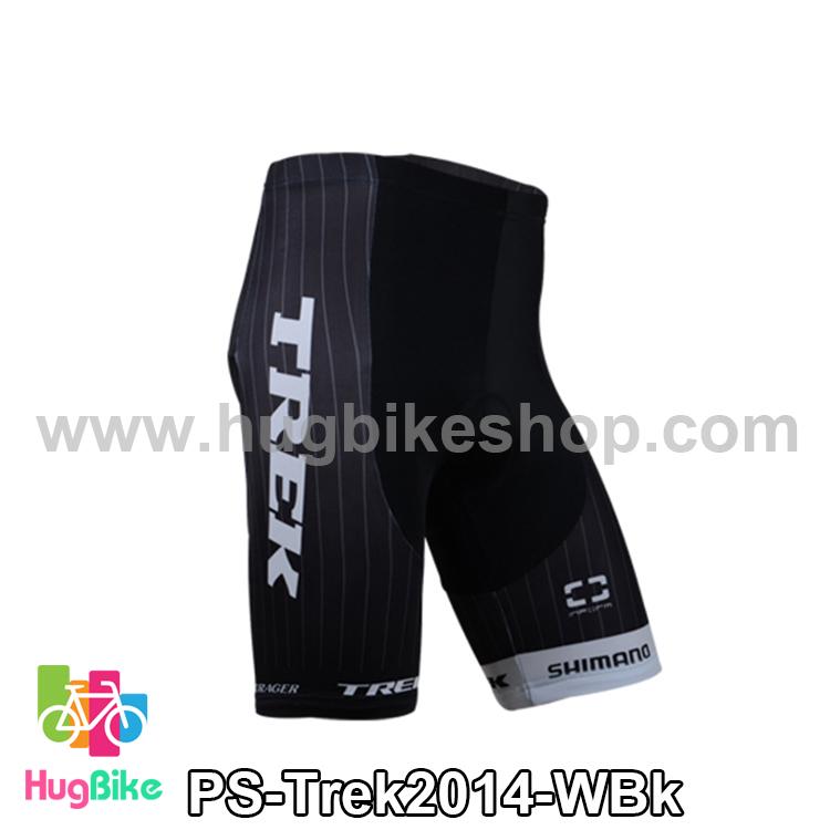 กางเกงจักรยานขาสั้นทีม Trek 14 สีขาวดำ สั่งจอง (Pre-order)