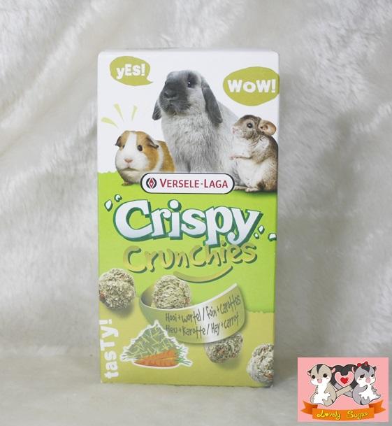 crispy crunchies อาหารสัตว์ฟันแทะขนาดเล็ก